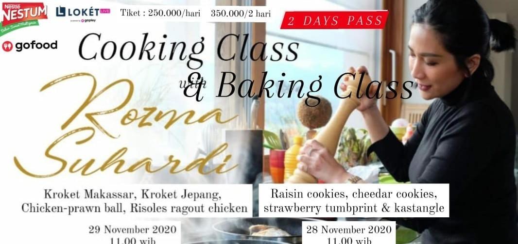 2 Days Pass Baking  Cooking with Rozma Suhardi 28  29 November 2020