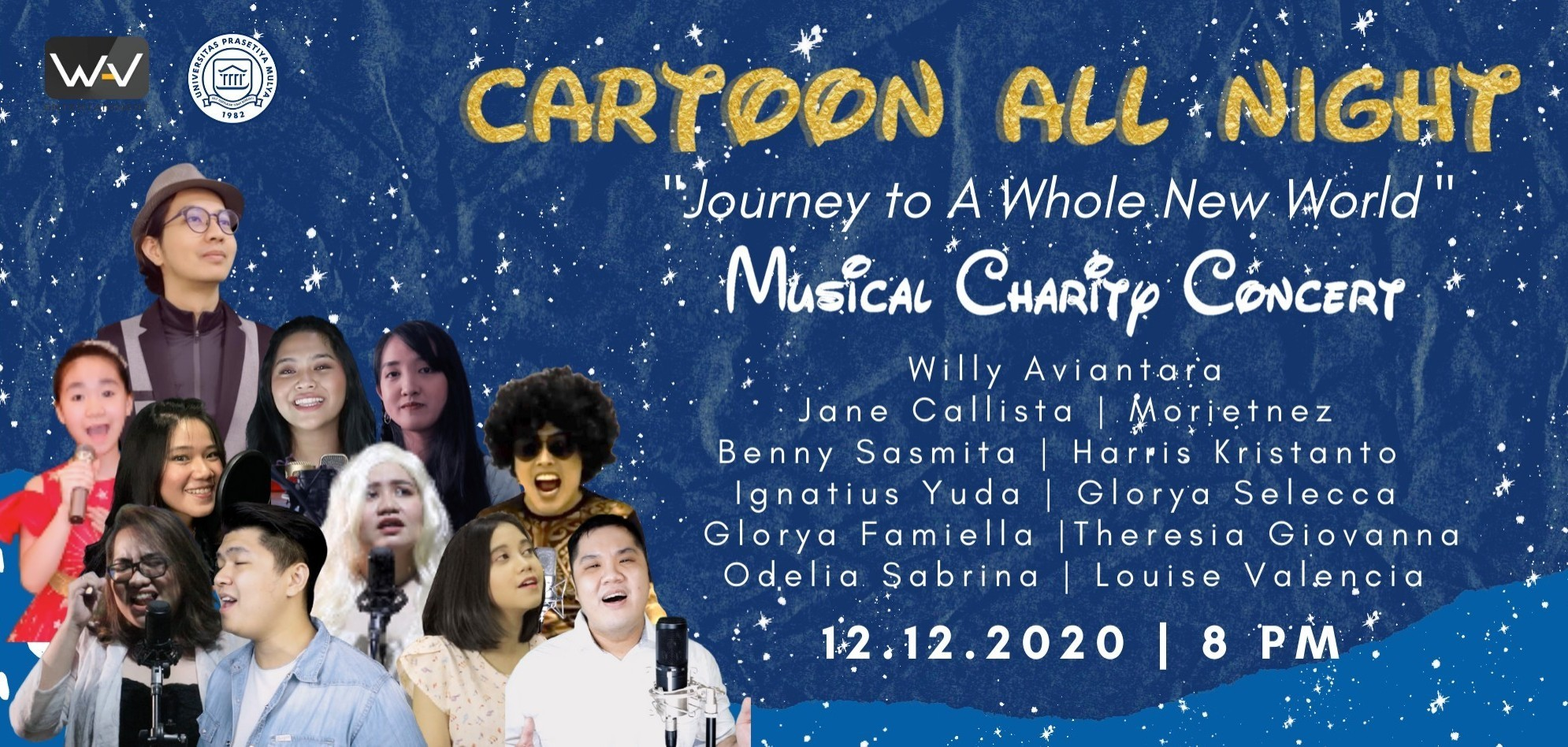 "MUSICAL CHARITY CONCERT ""CARTOON ALL NIGHT"""