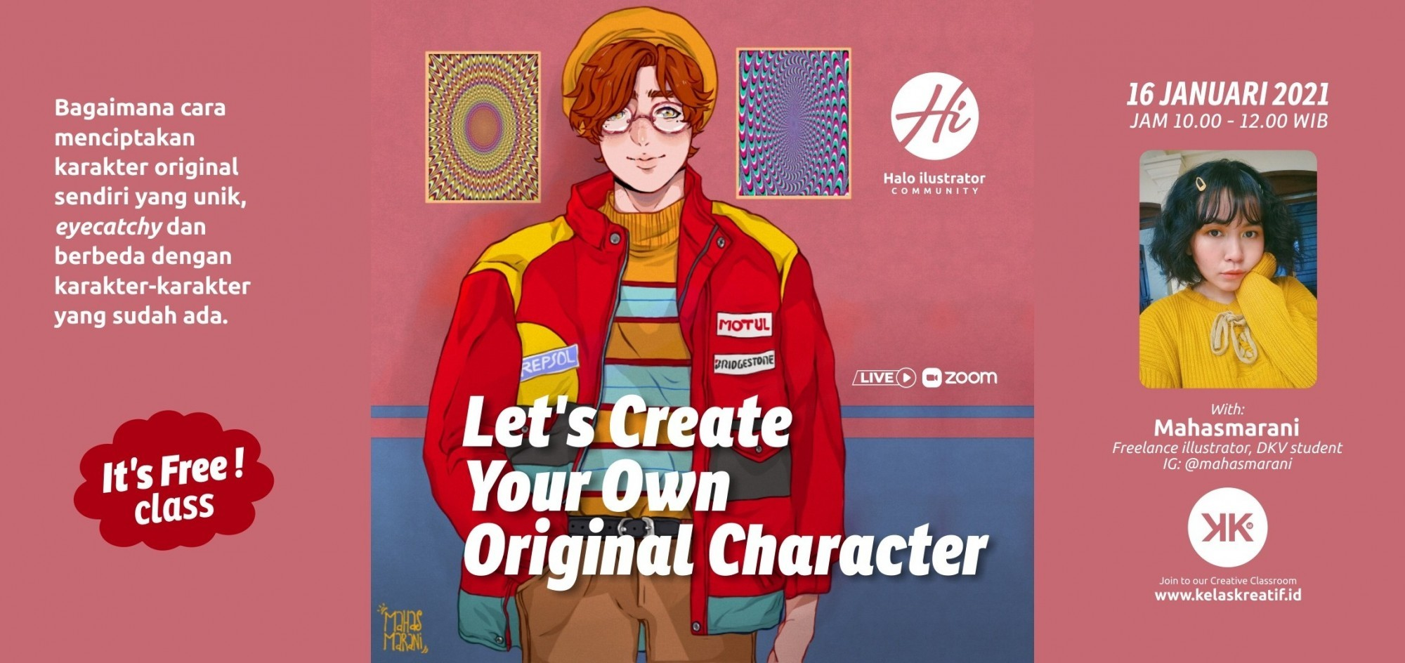 (Free Class) Let's Create Your Own Original Character