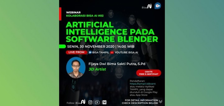 Artificial Intelligence Pada Software Blender