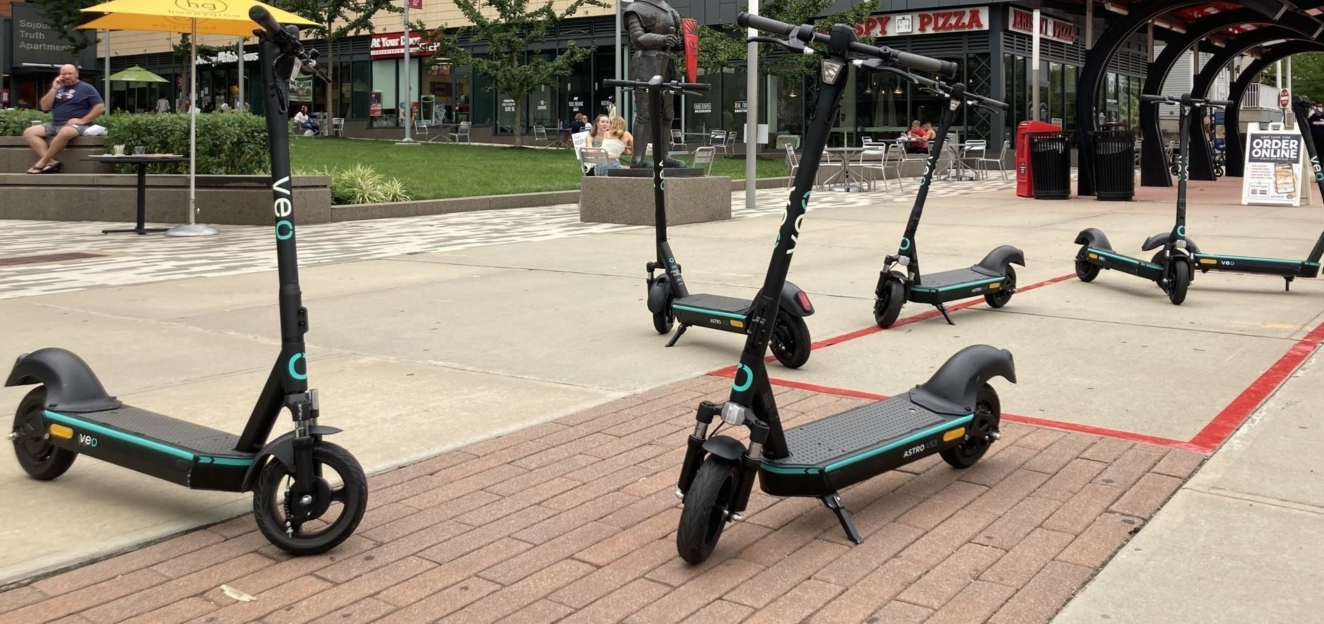 Taste and Ride Electric Scooter