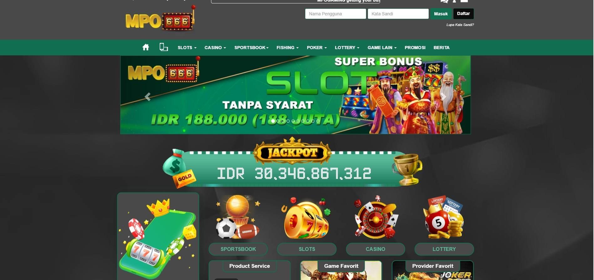 Jual Tiket Mpo666 Slots Online Terlengkap Indonesia 2020 Loket Com