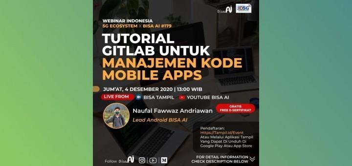 Tutorial Gitlab Untuk Manajemen Mobile Apps