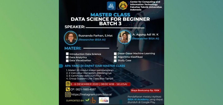 Data Science for Beginner Batch 3