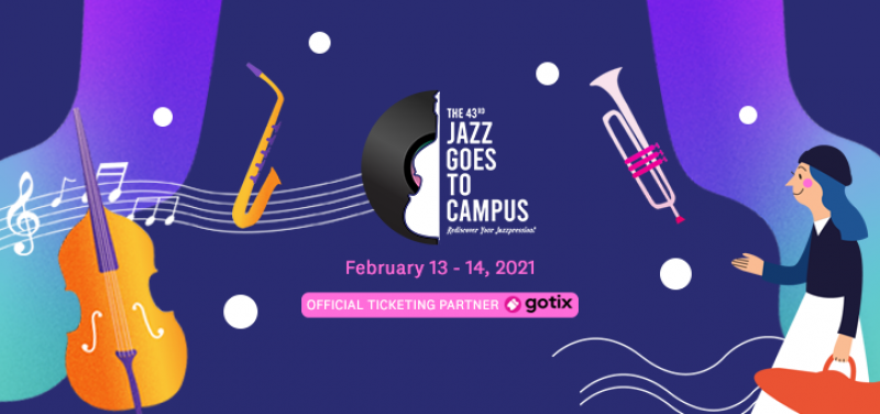 The 43rd Jazz Goes to Campus 2 Days Pass