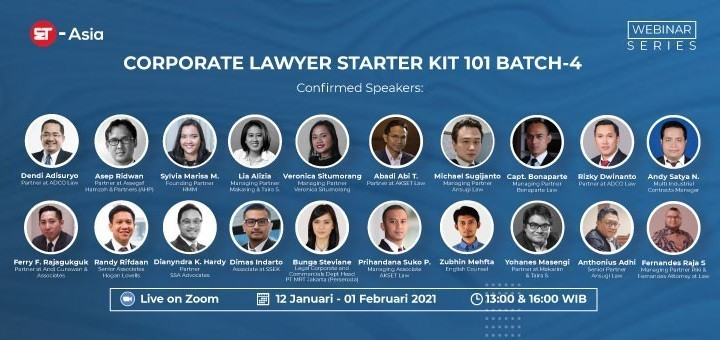 [ET-Asia] Corporate Lawyer Starter Kit 101 Batch-4