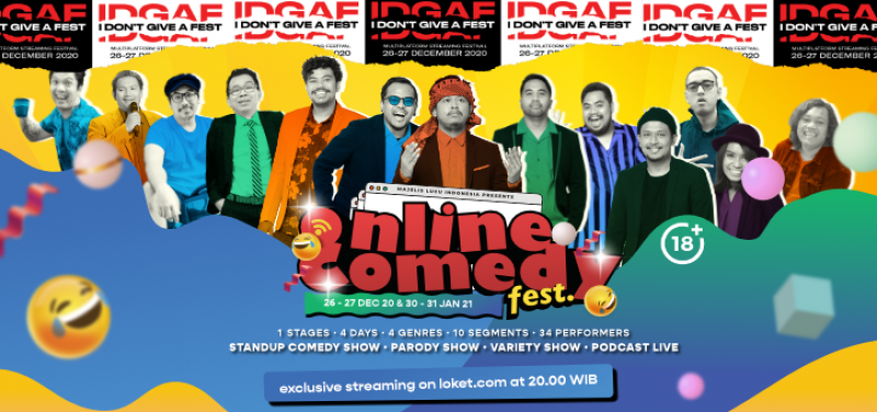Online Comedy Festival ULTIMATE