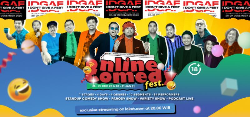 Online Comedy Festival HIYA HIYA