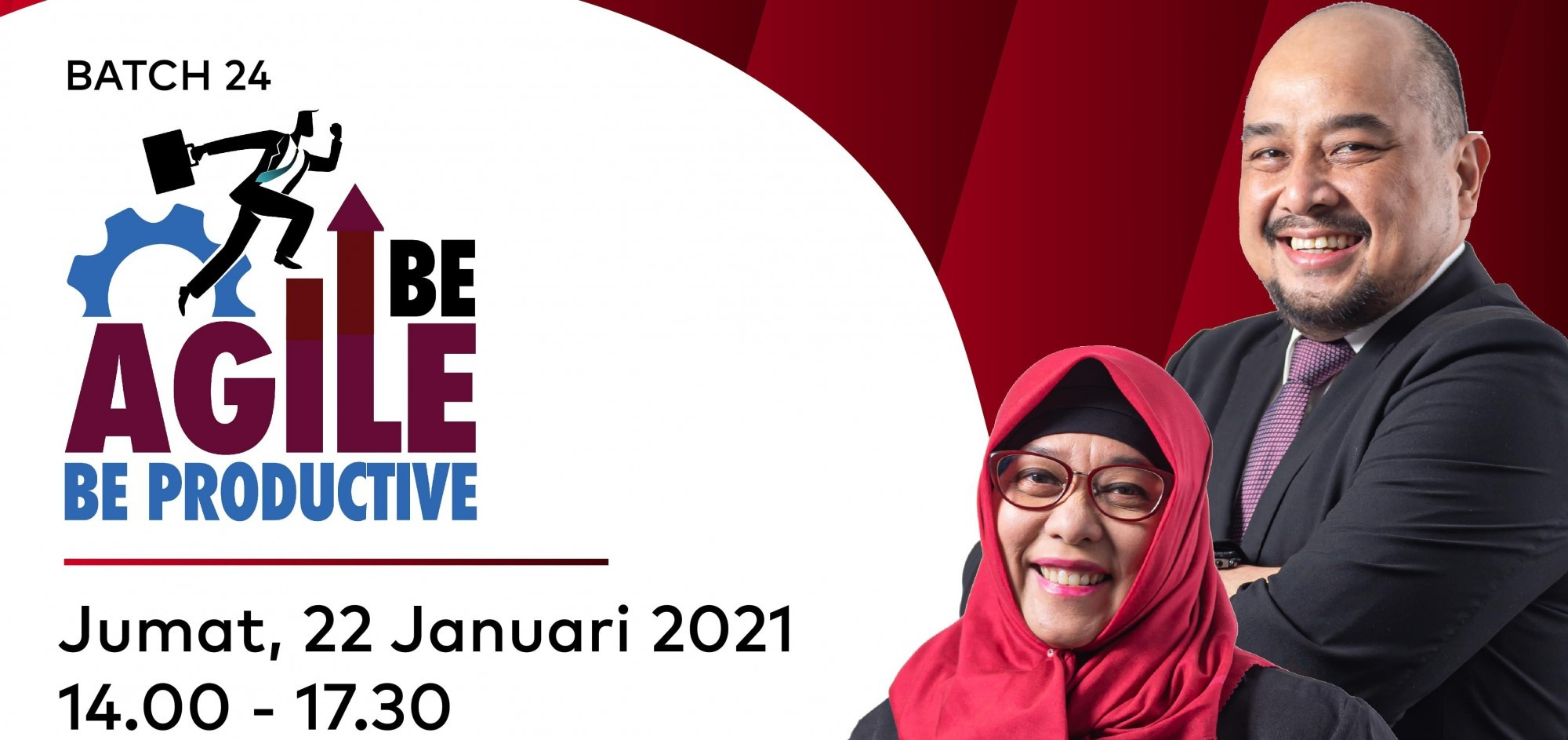 Be Agile Be Productive With Sugiarti Rosbak & Rudy Adrian Batch 24