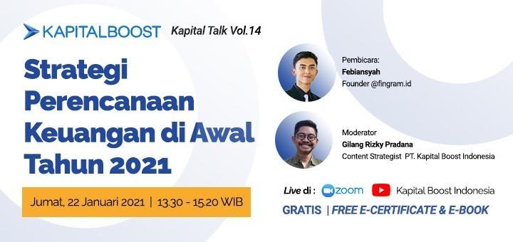 Kapital Talk Vol. 14: Strategi Perencanaan Keuangan di Awal Tahun 2021