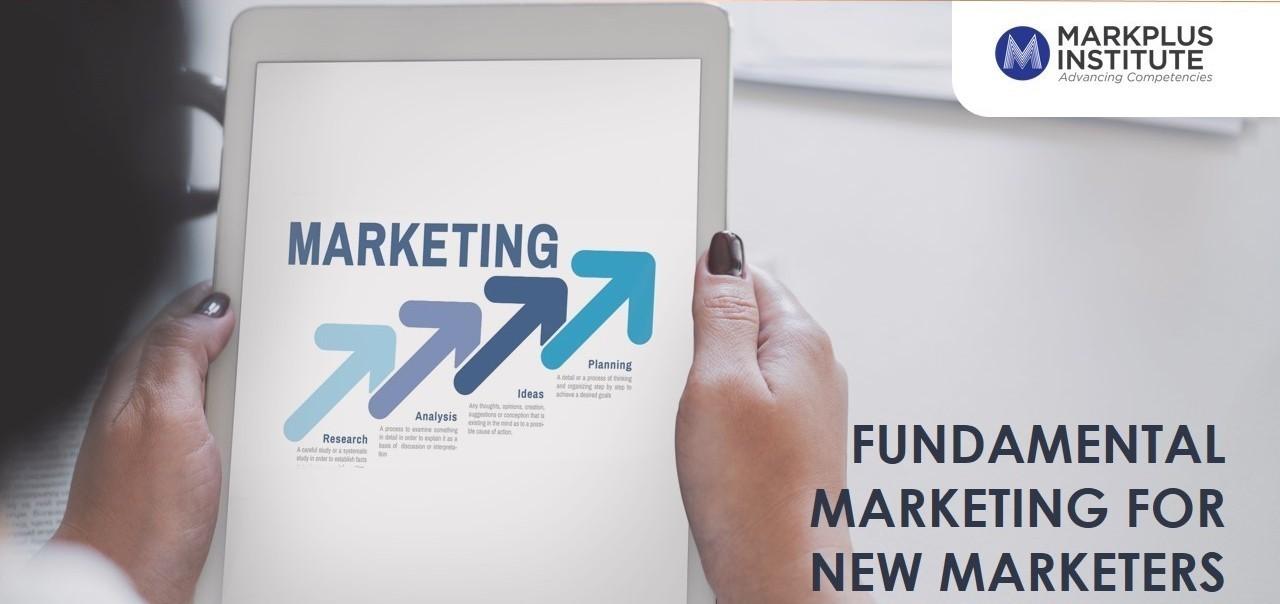[MarkPlus Institute] Fundamental Marketing for New Marketers