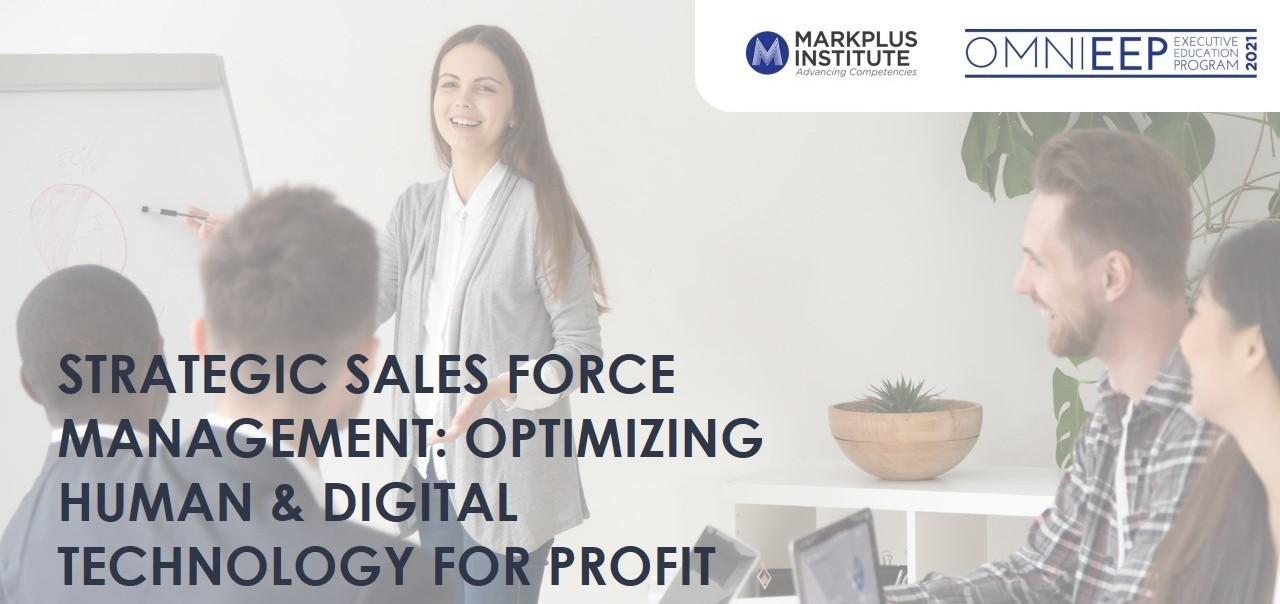 [MarkPlus Institute] Strategic Sales Force Management