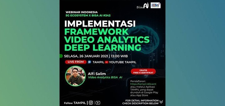 Implementasi Framework Video Analytics Deep Learning