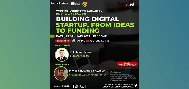 Building Digital Startup, From Ideas to Funding