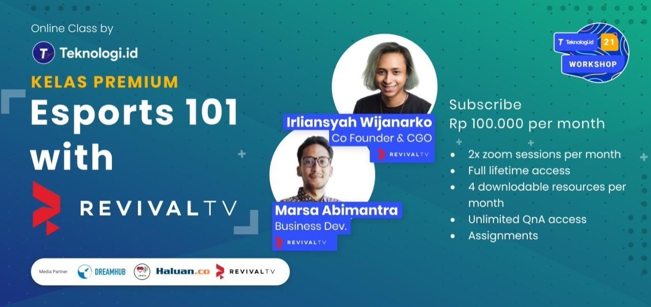 Kelas Online Premium - Esports 101 with RevivaLTV  (Sesi 1)