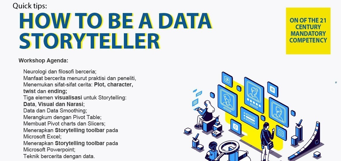 How To Be A Data Storyteller
