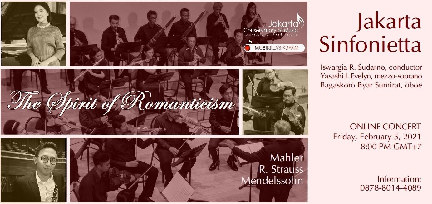 Jakarta Sinfonietta - The Spirit of Romanticism