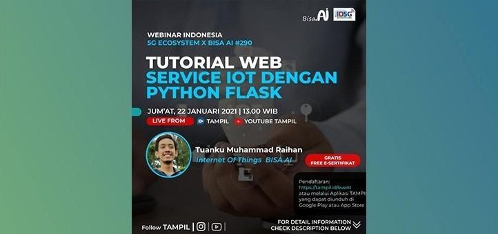 Tutorial Web Service IoT Dengan Python Flask