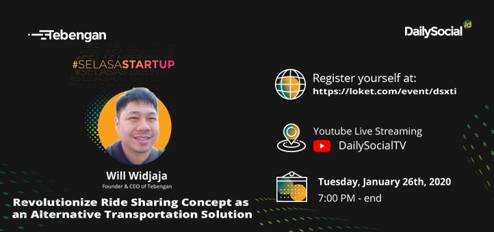#SelasaStartup Revolutionize Ride Sharing Concept as an Alternative Transportation Solution