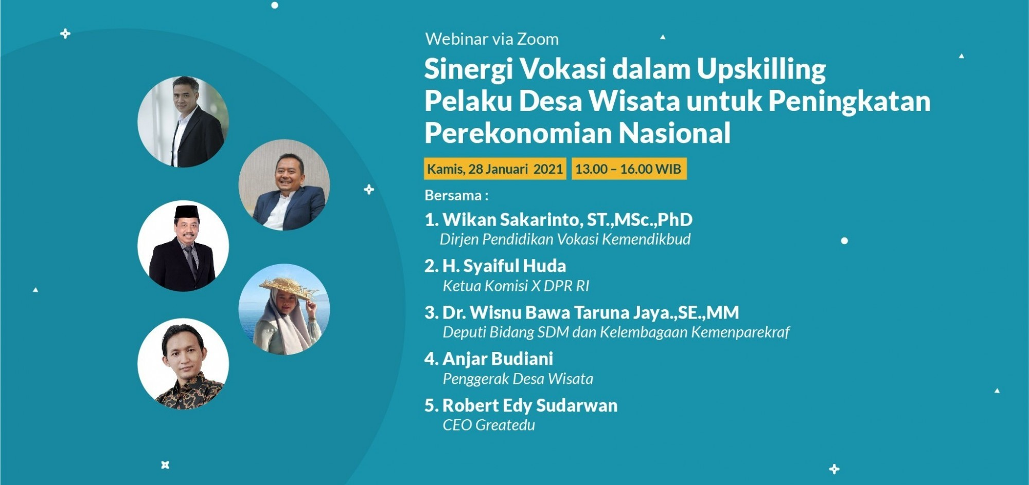 Sinergi Vokasi dalam Upskilling Pelaku Desa Wisata untuk Peningkatan Perekenomian Nasional