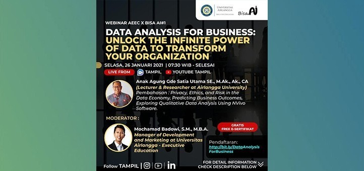Data Analysis For Business: Unlock The Infinite Power Of Data To Transform Your Organization