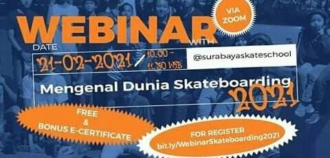 RYTI Webinar Mengenal Dunia Skateboarding 2021