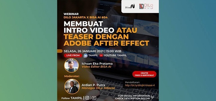Membuat Intro Video atau Teaser Dengan Adobe After Effect