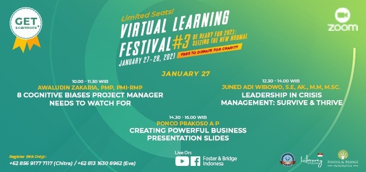 Virtual Learning Festival - Be Ready for 2021: Seizing The New Normal
