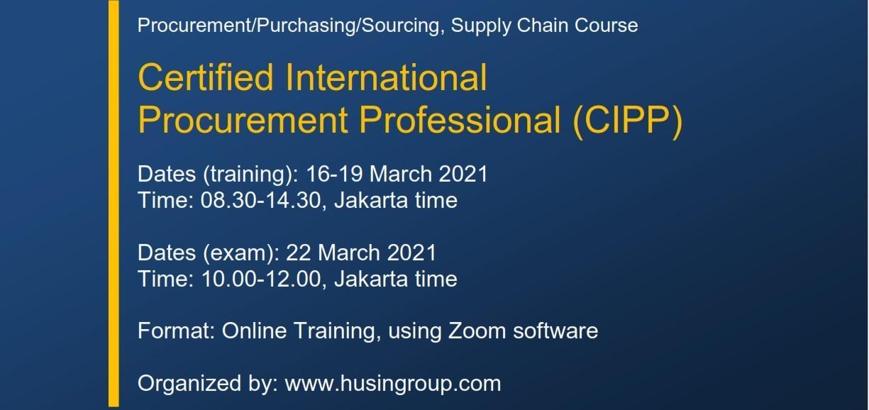 Certified International  Procurement Professional (CIPP)