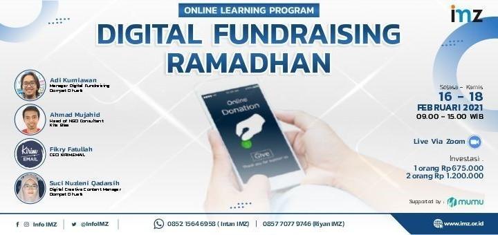 Digital Fundraising Ramadhan