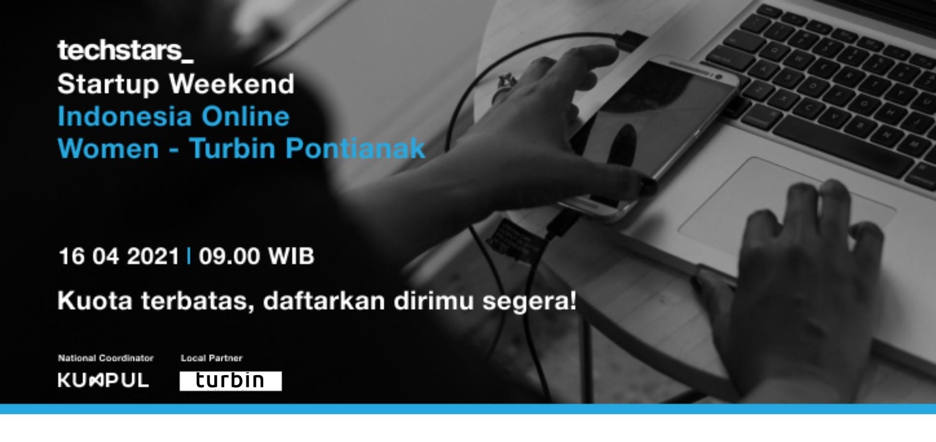 Startup Weekend Indonesia Online Women Pontianak - Turbin