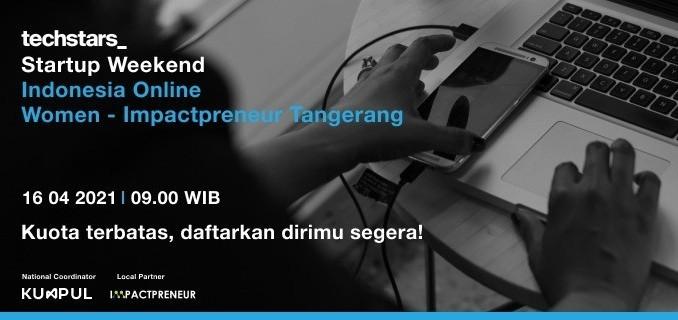 Startup Weekend Indonesia Online Women Tangerang - Impactpreneur