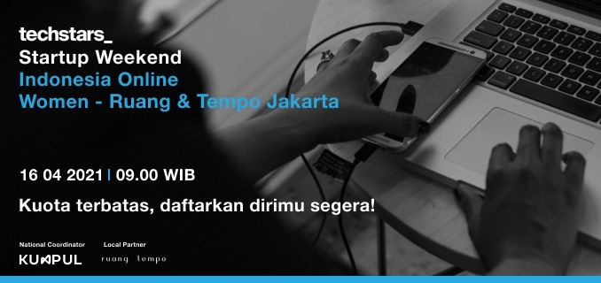 Startup Weekend Indonesia Online Women Jakarta - Ruang & Tempo