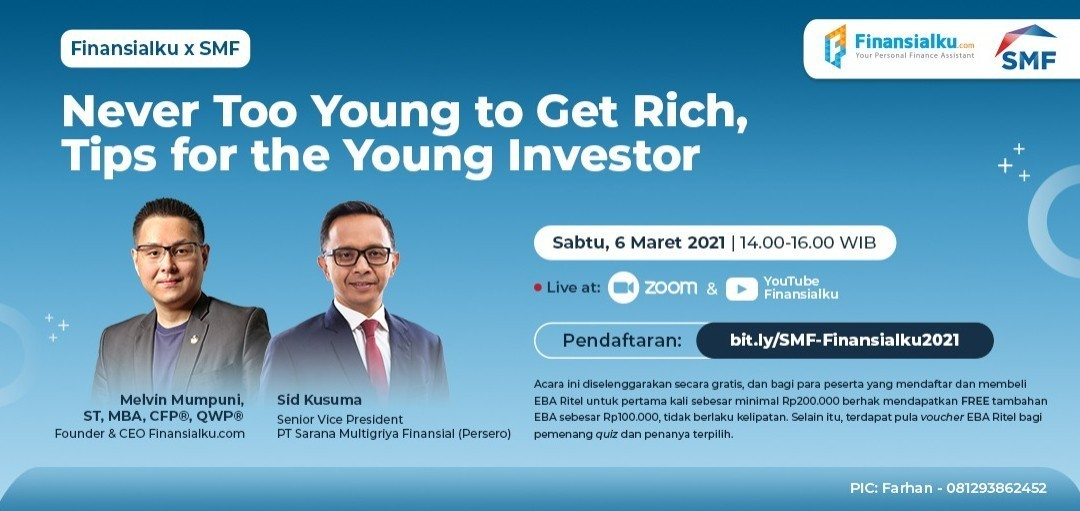 Never Too Young to Get Rich, Tips for the Young Investor