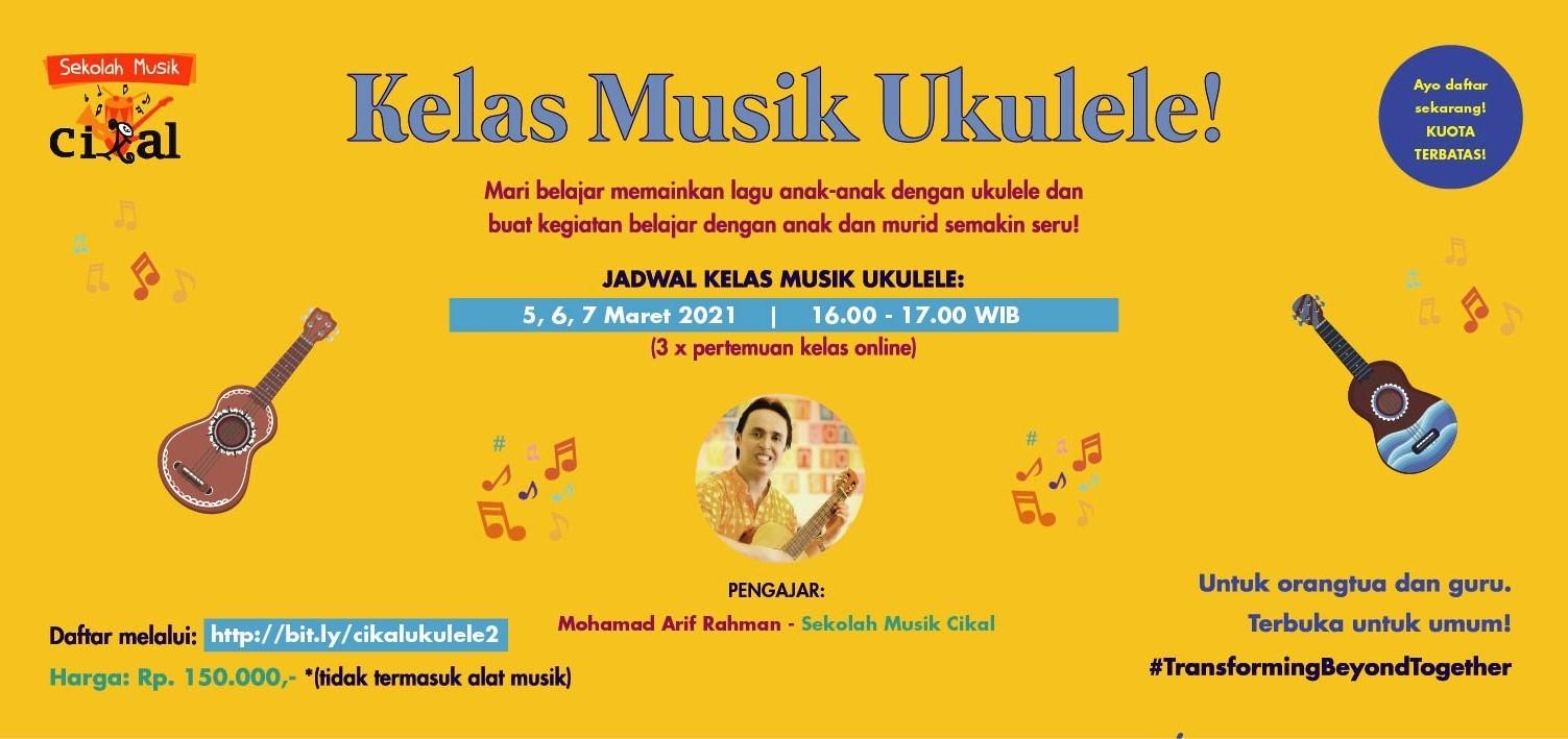 Sekolah Musik Cikal: Kelas Ukulele Batch 2