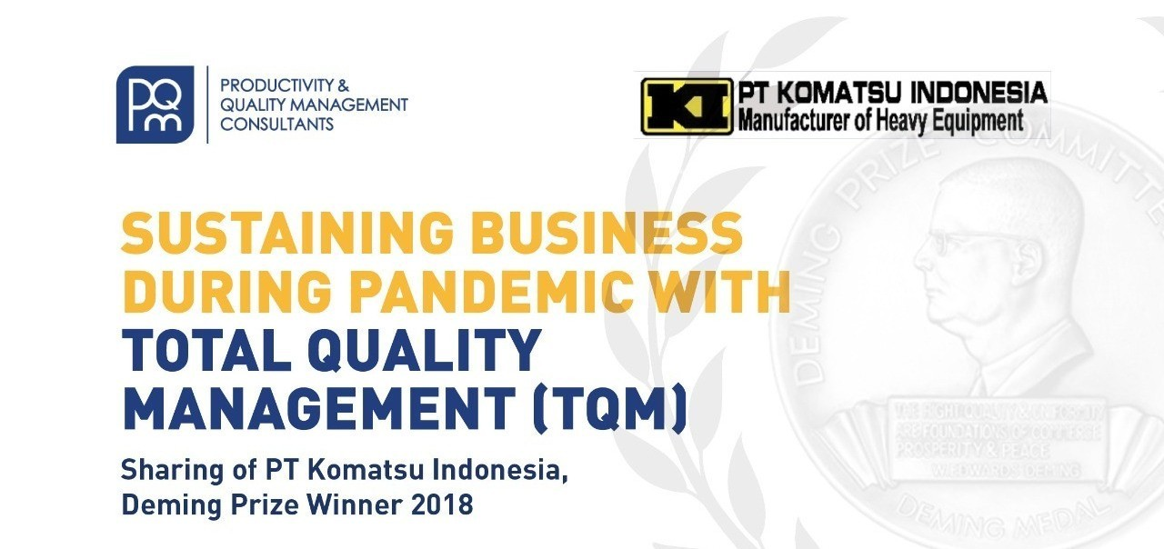 [FREE WEBINAR] Sustaining Business During Pandemic With Total Quality Management (TQM)