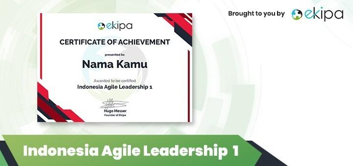 Ekipa Certification: Indonesia Agile Leadership 1