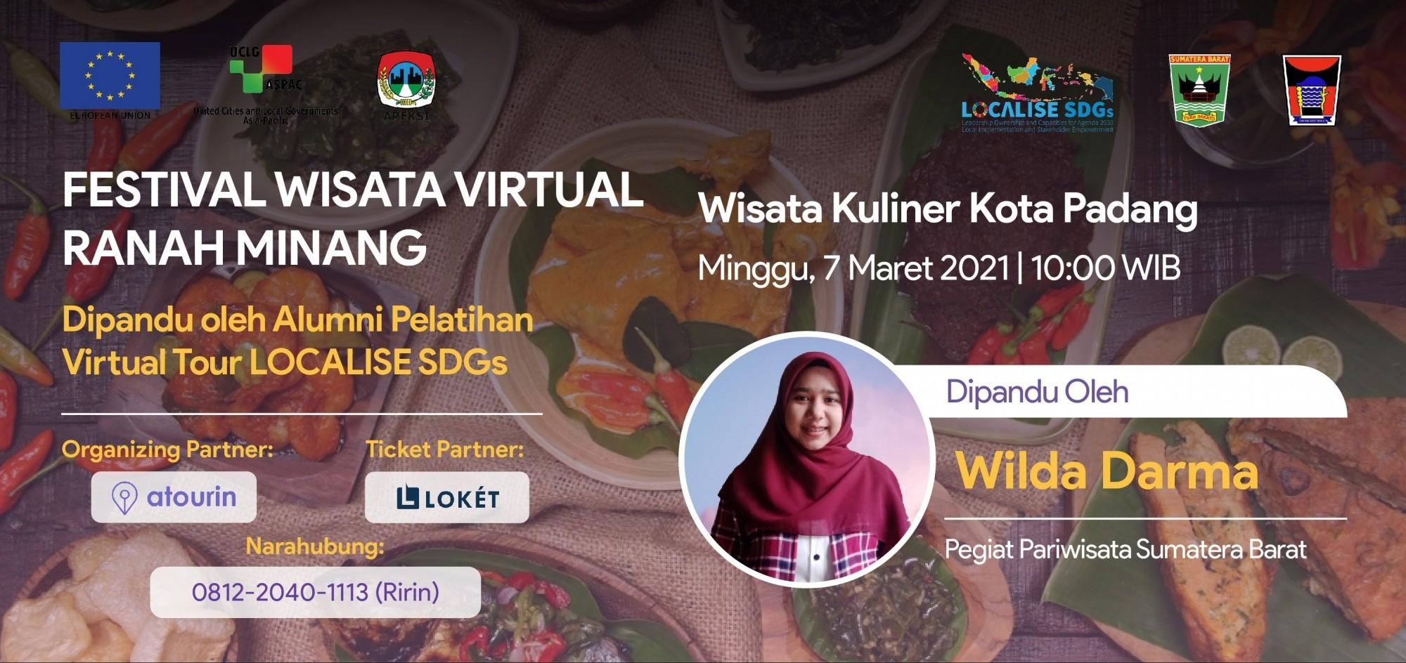 Wisata Kuliner Kota Padang - Festival Wisata Virtual Ranah Minang