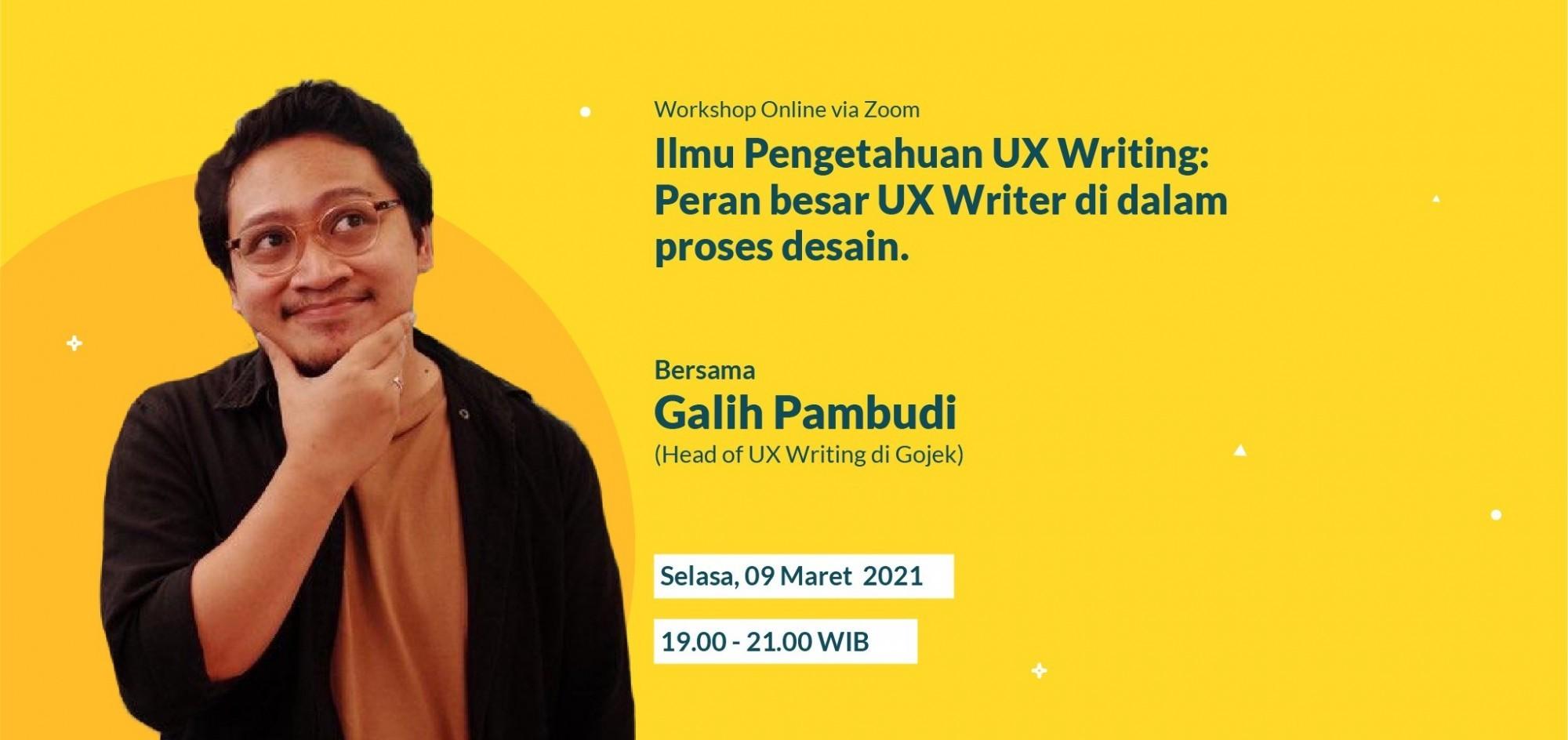 Ilmu Pengetahuan UX Writing: Peran Besar UX Writer di dalam Proses Desain