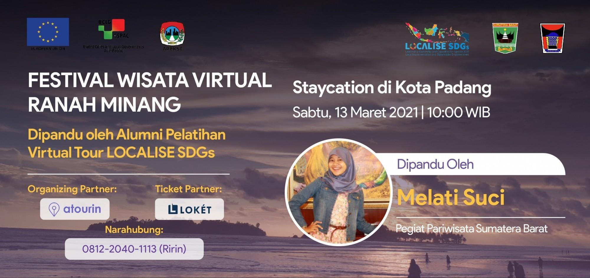 Staycation di Kota Padang - Festival Wisata Virtual Ranah Minang