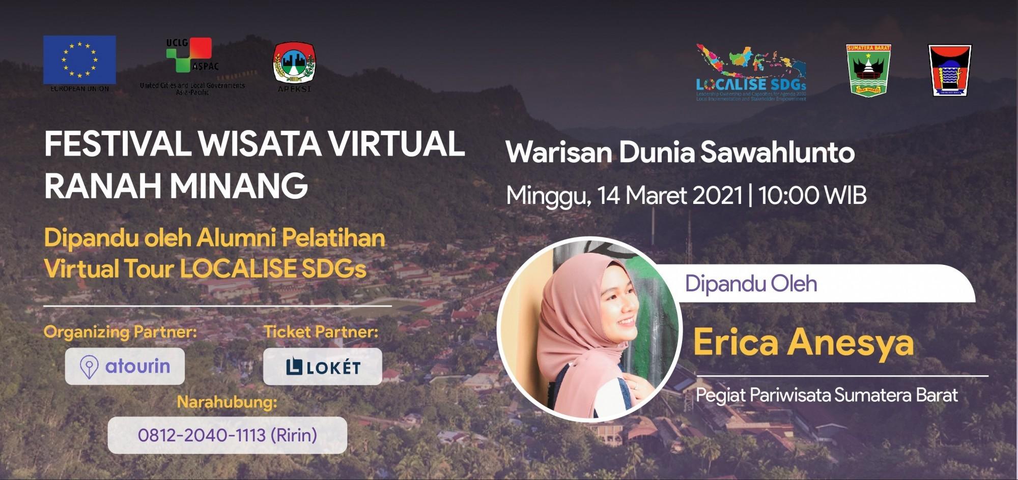 Warisan Dunia Sawahlunto - Festival Wisata Virtual Ranah Minang