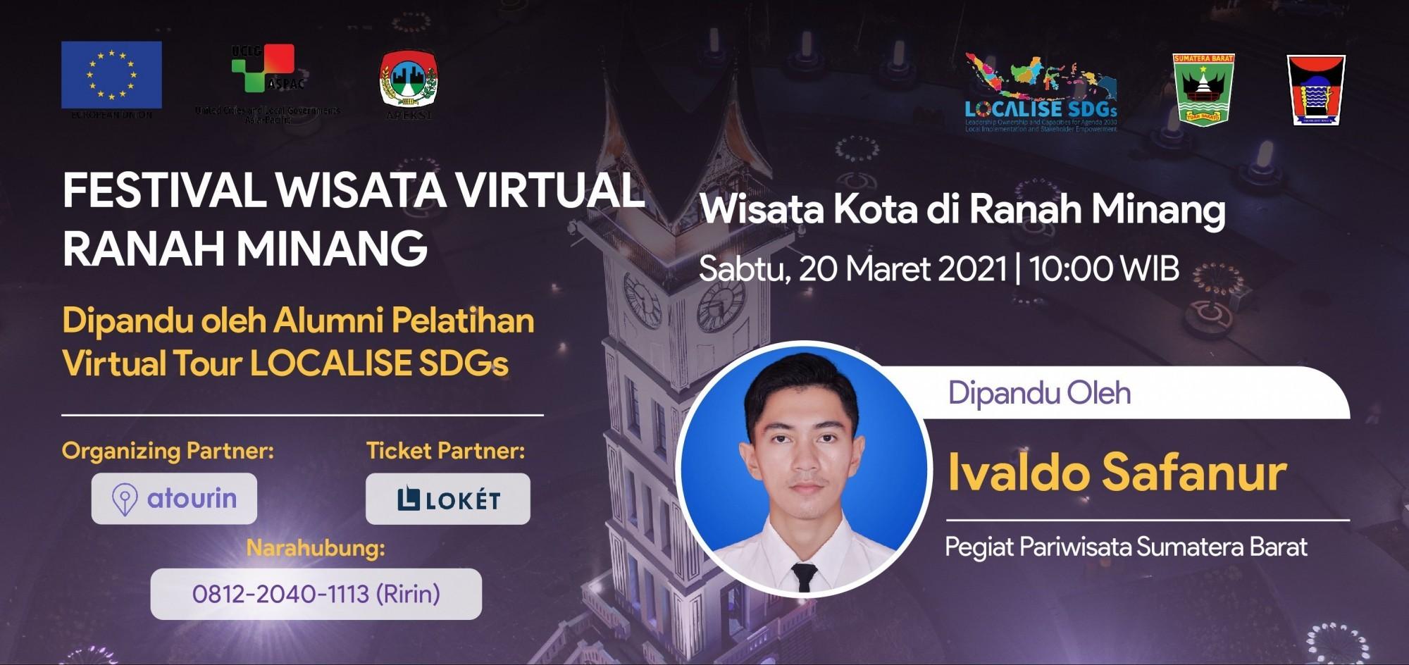 Wisata Kota di Ranah Minang - Festival Wisata Virtual Ranah Minang
