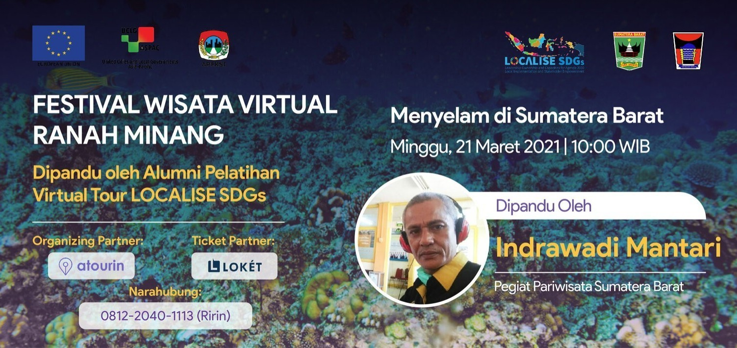 Menyelam di Sumatera Barat - Festival Wisata Virtual Ranah Minang