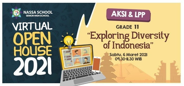 VIRTUAL OPEN HOUSE - Exploring Diversity of Indonesia