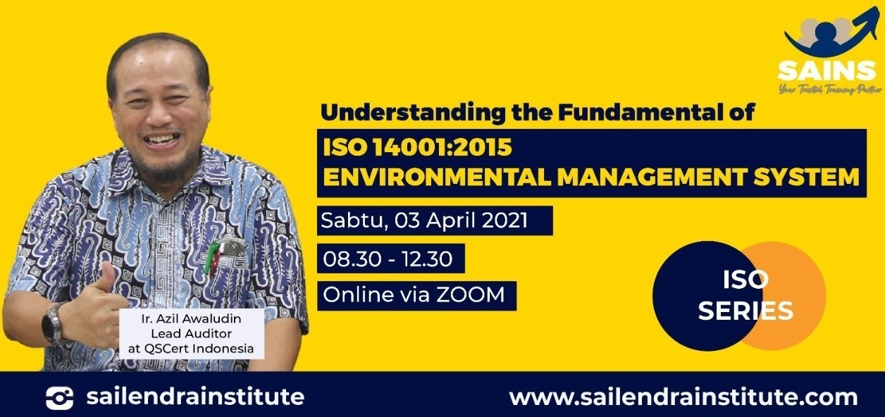 ISO 14001:2015 EMS Fundamental Workshop with Ir. Azil Awaludin