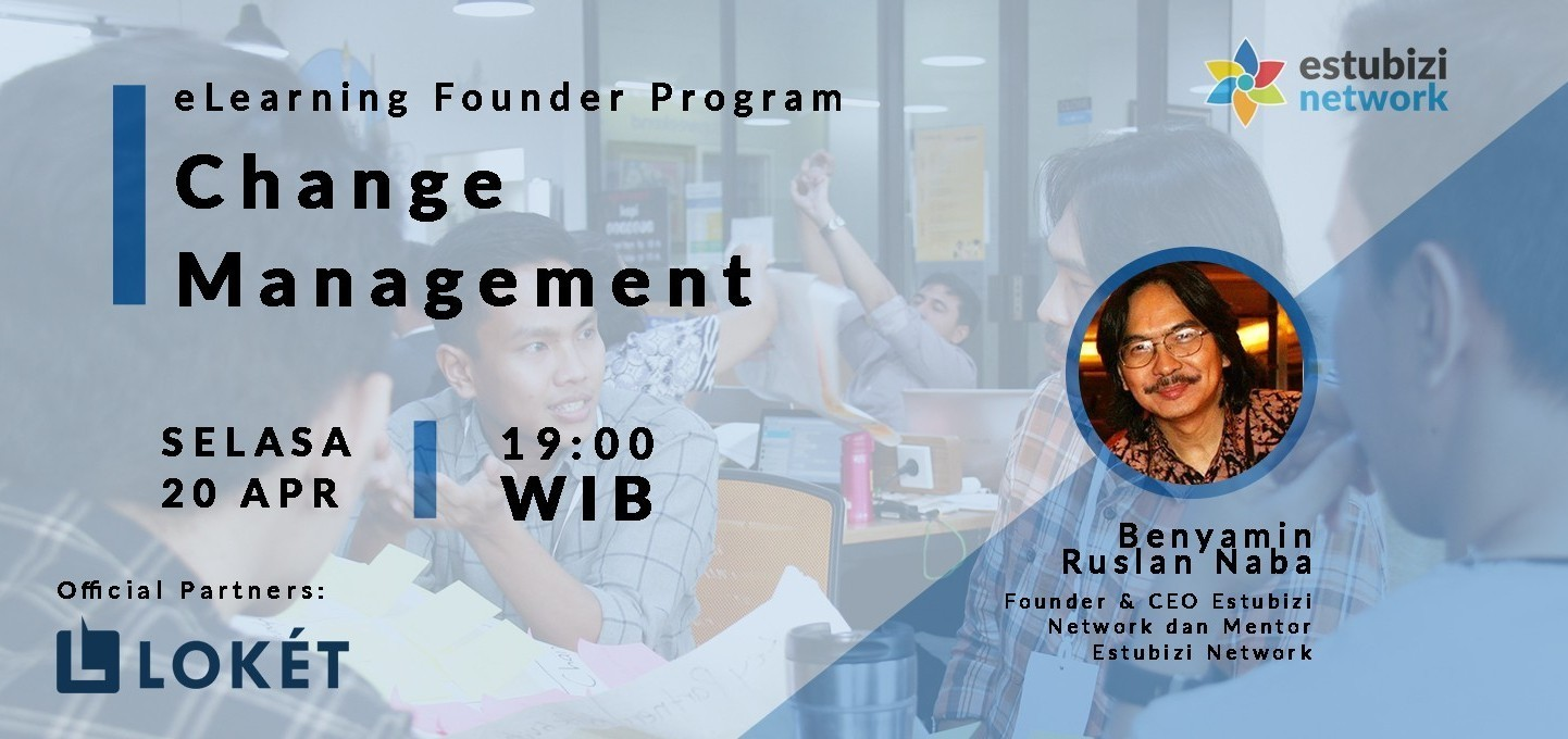Founder Program: Change Management