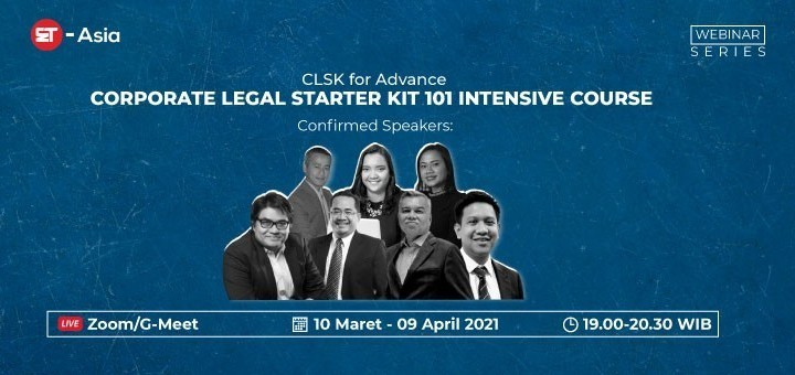 [ET-Asia] Corporate Lawyer Starter Kit 101 Intensive Course