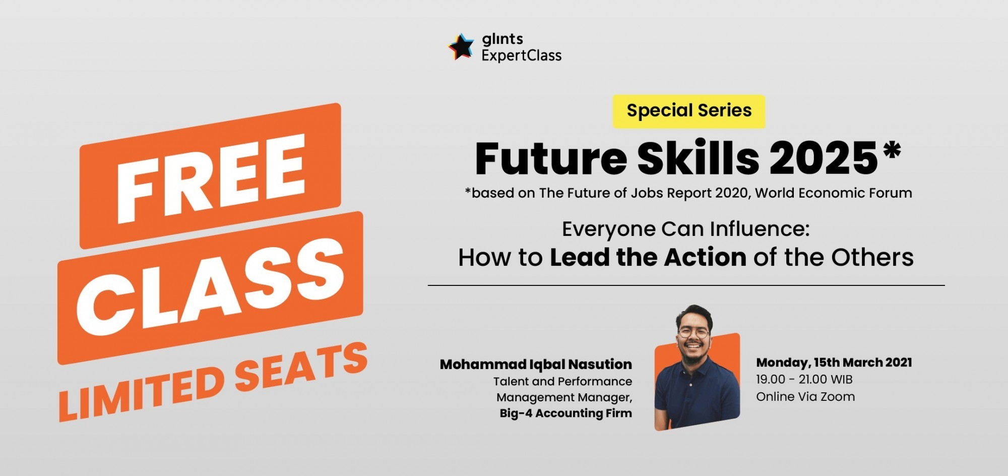 [Online Glints ExpertClass] Everyone Can Influence: How to Lead the Action of the Others