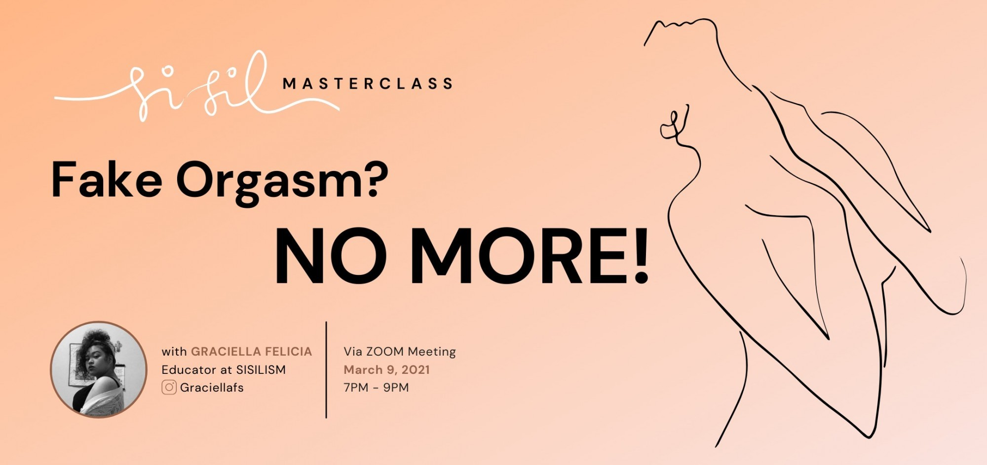 Fake Orgasm? NO MORE! - Sisilism Masterclass