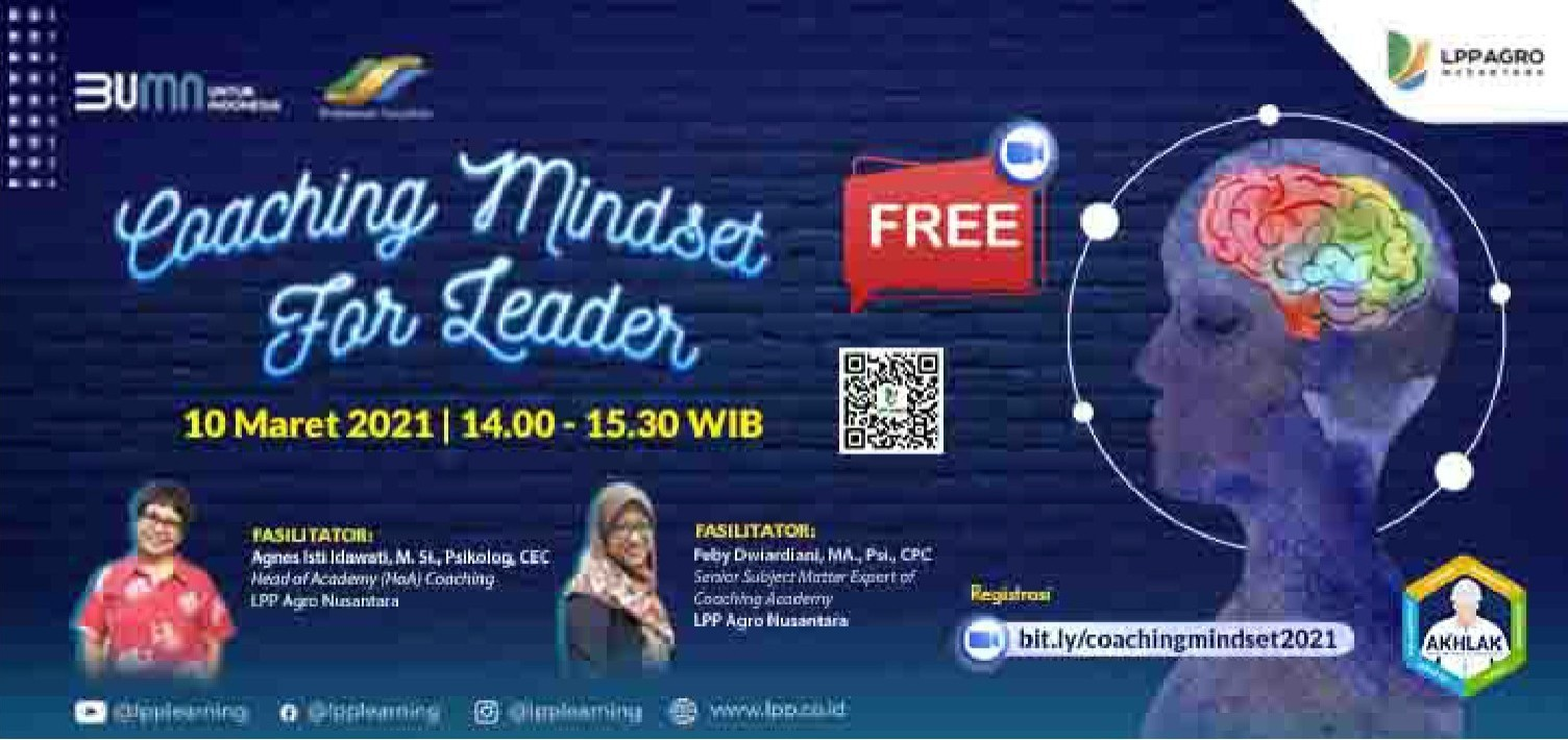 "FREE EVENT ""COACHING MINDSET FOR LEADER"""